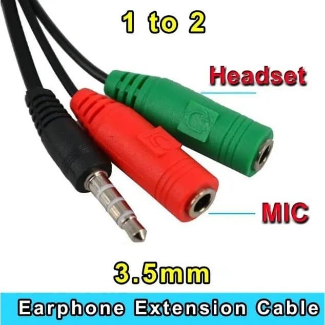 Foto Produk JACK AUDIO 3.5 2 IN 1 SPLITTER EARPHONE + MICROPHONE dari EtalaseBelanja