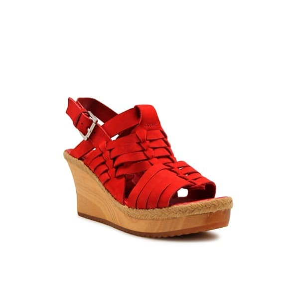 Foto Produk WEDGES Elenoir - Red 8cm dari Natana Shoes