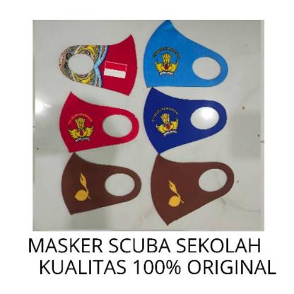 Jual MASKER SKUBA / MASKER MOTIF ANAK SEKOLAH / SCUBA ...