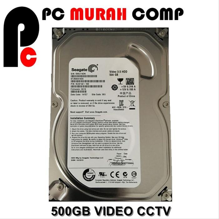 Foto Produk Hardisk Internal PC 500GB SATA seagate dari Pc Murah Comp