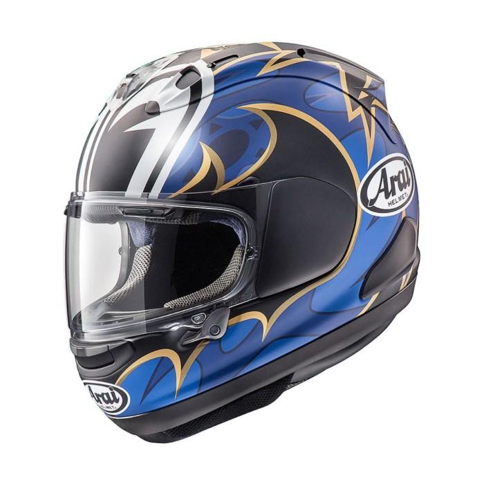 Foto Produk Arai SNI RX7X NAKASUGA 21 Helm Full Face - Black Blue - M dari Arai Indonesia