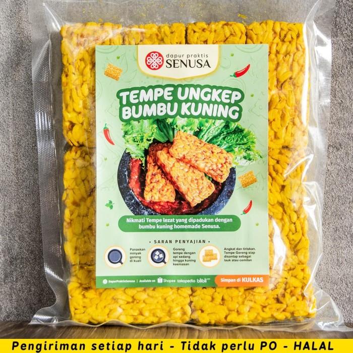 Foto Produk Tempe Ungkep Bumbu Kuning Siap Goreng (10 pcs) dari Dapur Praktis Jakarta