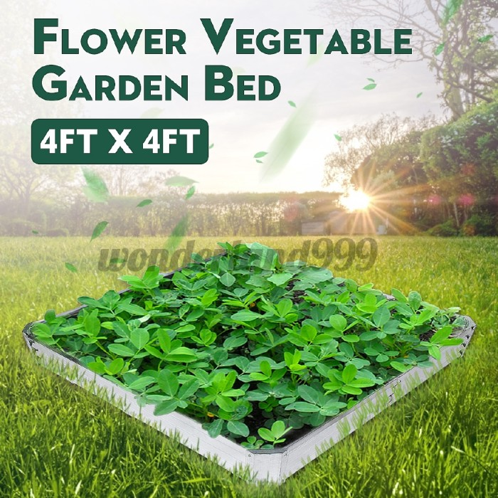 Jual Metal Raised Garden Bed Patio Backyard Flower Vegetable Planter Jakarta Barat Redm Store Tokopedia