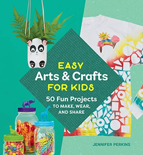 Jual Easy Arts Crafts For Kids 50 Fun Projects To Make Wear And Share Jakarta Selatan Pick A Book Store Tokopedia