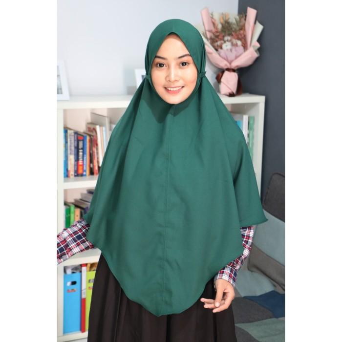 Jual Bergo Maryam Jumbo Tali Non Pad Moscrepe Warna Hijau Botol Kab Bandung Polosan Dot Id Tokopedia