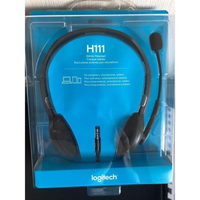 Foto Produk Headset Logitech H111 Stereo Headset dari CassCom