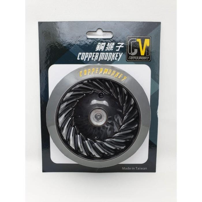 Foto Produk Cooper Monkey Fan Wheel Black Vespa Sprint & Primavera 3v or I-get dari Gaya Motor Baru