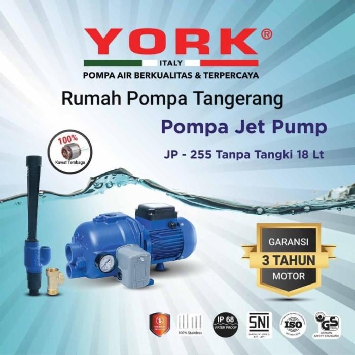 Jual Pompa air jet pump 255 YORK ITALY (Galian sumur 30 ...
