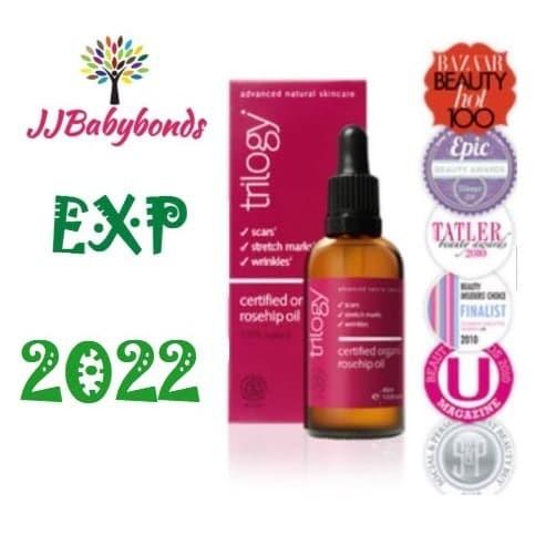 Foto Produk TRILOGY 20 ML Certified Organic Rosehip Oil dari jjbabybonds