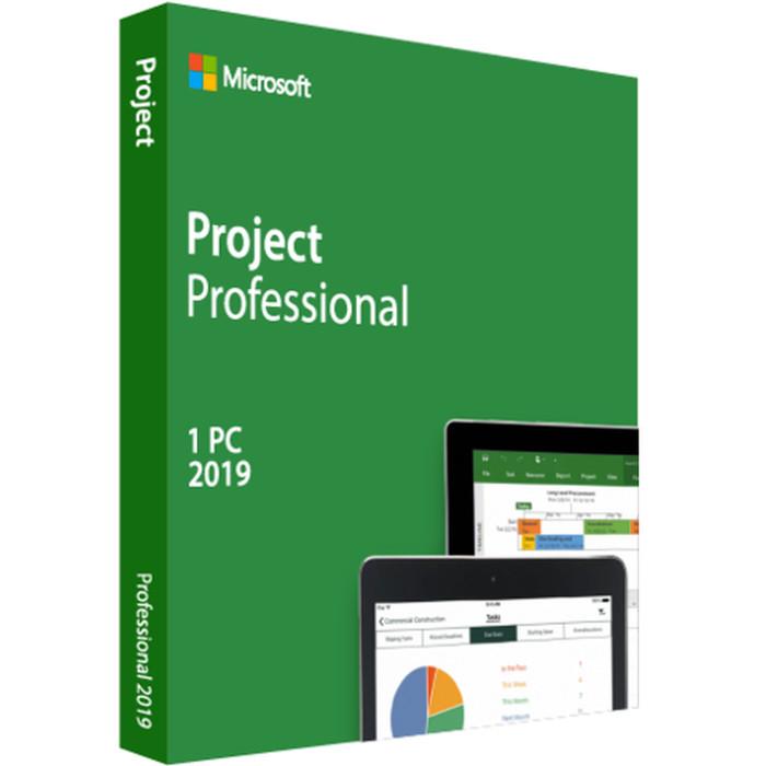 Jual Microsoft Project Professional 2019 1 Pc Original Jakarta Utara Lezz Computech Tokopedia