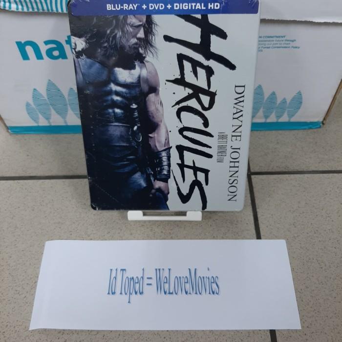 Jual Blu Ray Hercules 2014 Steelbook Kota Medan Welovemovies Tokopedia