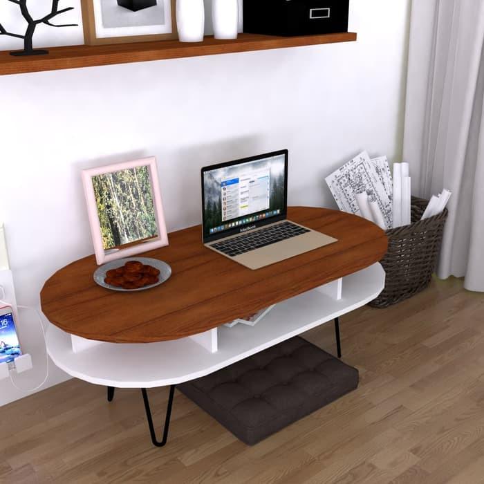 Jual Meja tamu minimalis coffee table meja kekinian-moana coffee table - Teek - Kota Bandung - Indo Sanjaya | Tokopedia