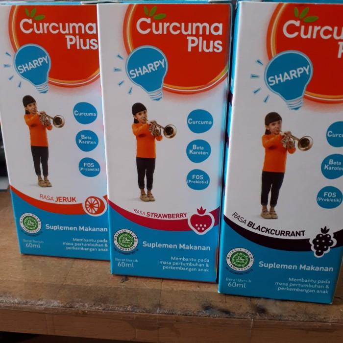 Jual CURCUMA PLUS SHARPY SYRUP/Suplemen Makanan 60ml ...