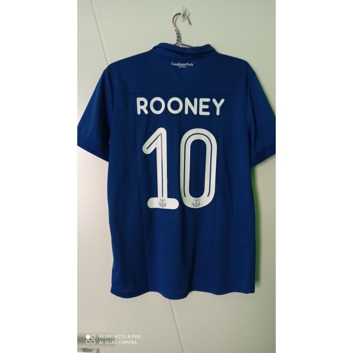 Jual Jersey Everton Commemorative 2017 18 Size L Rooney 10 Rare Kab Bekasi Everton Three Tokopedia