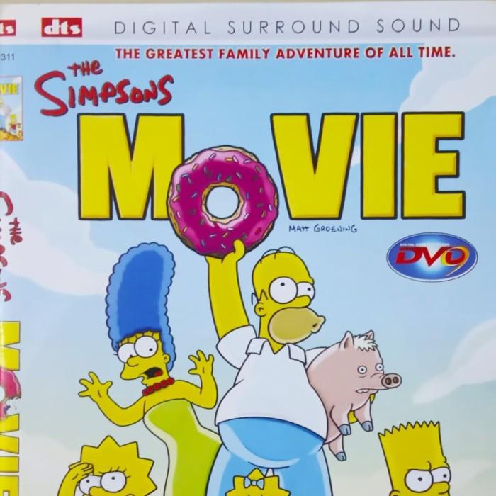 Jual Dvd The Simpsons Movie Hdcopy Kab Karawang Biokaset Dvd Tokopedia