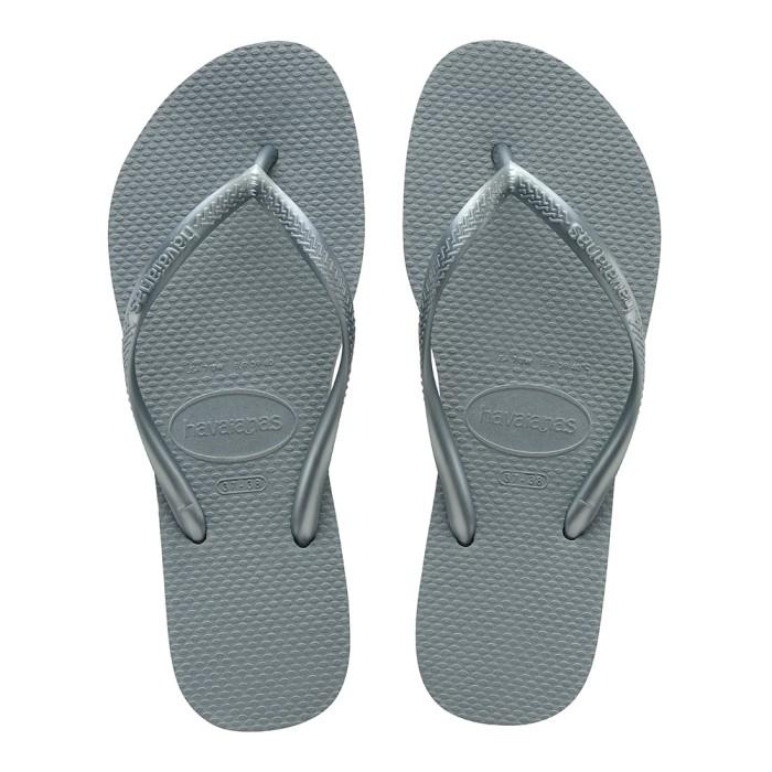 Foto Produk Havaianas Slim 7606-Silver Blue - Sandal Wanita - Biru, 37-38 dari Havaianas Official Shop