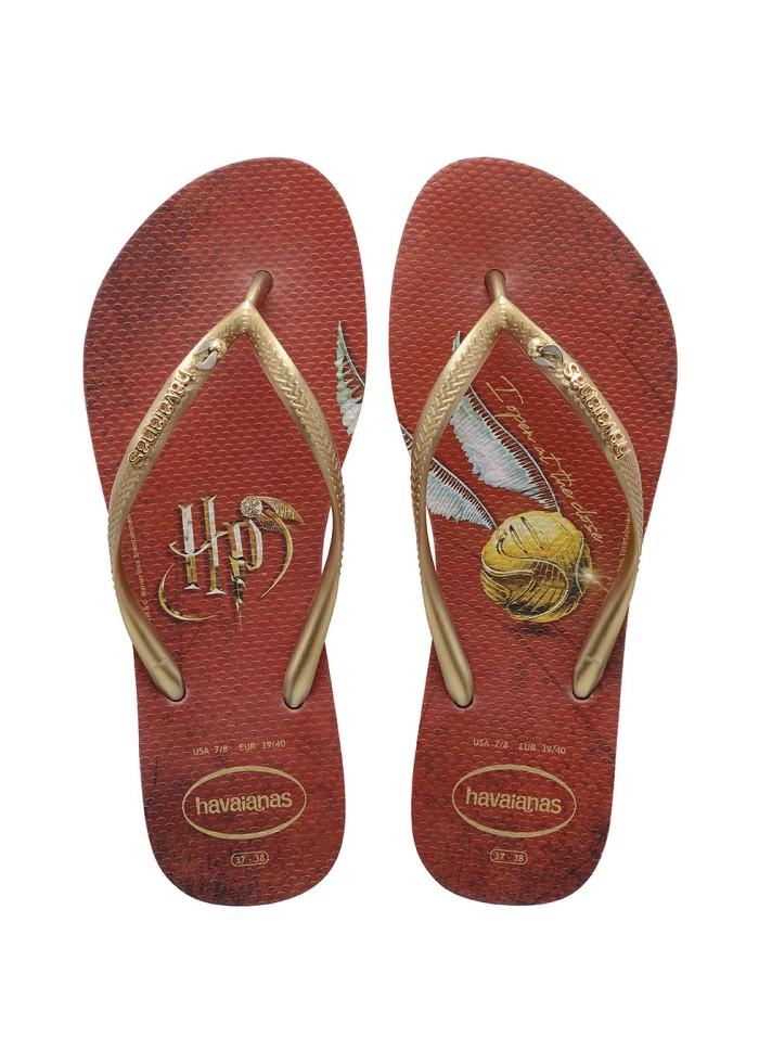 Foto Produk Havaianas Slim Harry Potter 1440-Red - Sandal Wanita - Merah, 35-36 dari Havaianas Official Shop