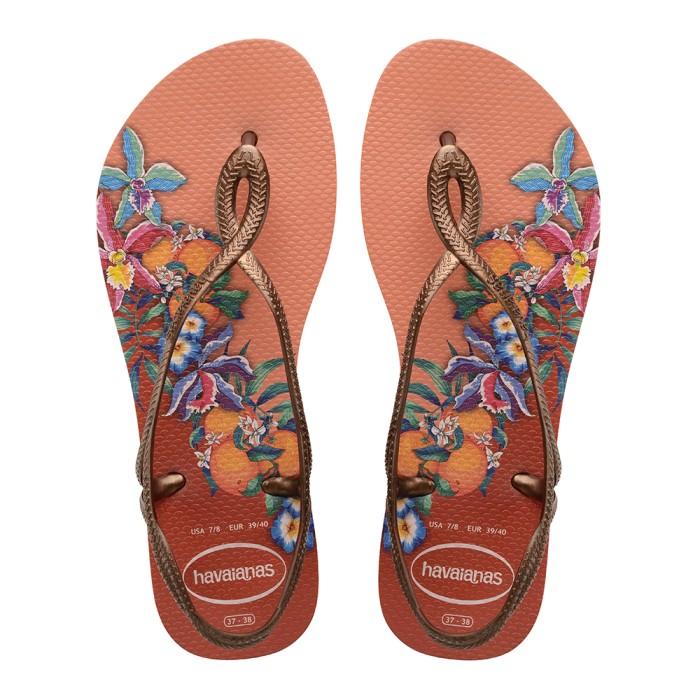 Foto Produk Havaianas Luna Print Cf 0082-Silk Rose - Sandal Wanita - Merah Muda, 39-40 dari Havaianas Official Shop
