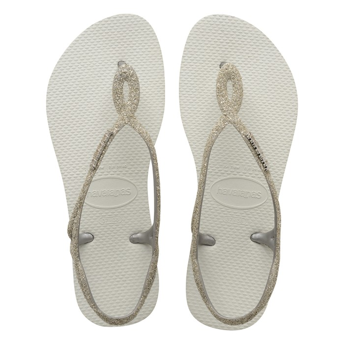 Foto Produk Havaianas Luna Premium Cf 0001-White - Sandal Wanita - Putih, 35-36 dari Havaianas Official Shop