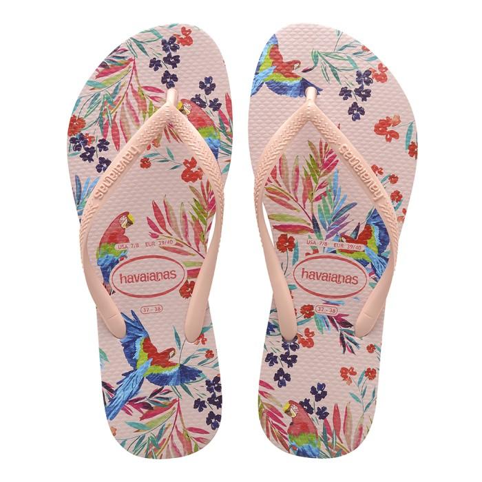 Foto Produk Havaianas Sl Tropical Floral 0076-Ballet Rose - Sandal Wanita - Merah Muda, 37-38 dari Havaianas Official Shop