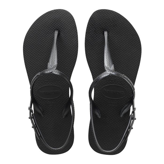 Foto Produk Havaianas Twist 0090-Black - Sandal Wanita - Hitam, 37-38 dari Havaianas Official Shop