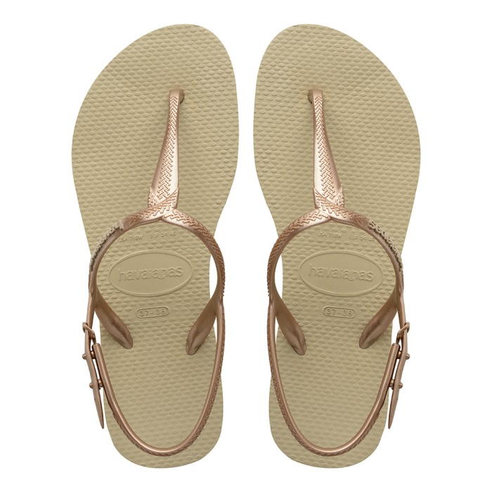 Foto Produk Havaianas Twist 0154-Sand Grey - Sandal Wanita - Cokelat, 37-38 dari Havaianas Official Shop