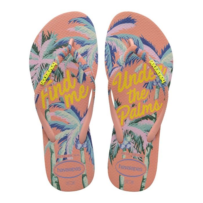 Foto Produk Havaianas Slim Summer 0082-Silk Rose - Sandal Wanita - Merah Muda, 35-36 dari Havaianas Official Shop
