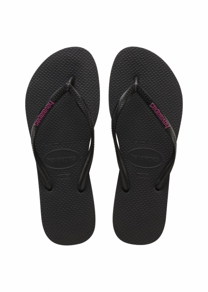 Foto Produk Havaianas Sl Logo Pop-Up Fc 7627-Black/Rosa Hollywood - Sandal Wanita - Hitam, 37-38 dari Havaianas Official Shop