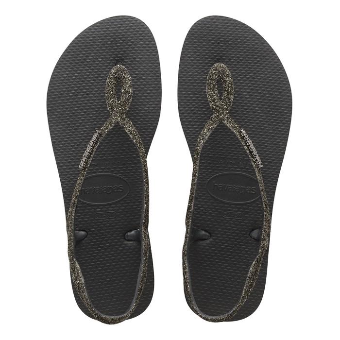 Foto Produk Havaianas Luna Premium Cf 0090-Black - Sandal Wanita - Hitam, 37-38 dari Havaianas Official Shop