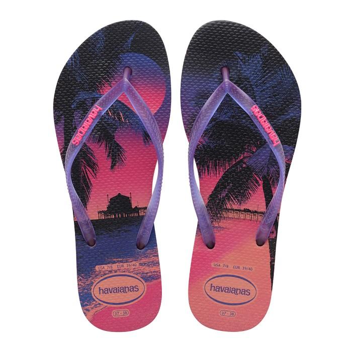Foto Produk Havaianas Slim Paisage Fc 6024-Coralnew - Sandal Wanita - Merah Muda, 35-36 dari Havaianas Official Shop