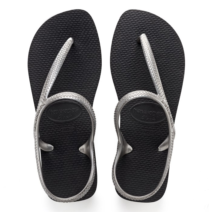 Foto Produk Havaianas Flash Urban 2976-Black/Silver - Sandal Wanita - Hitam, 33-34 dari Havaianas Official Shop