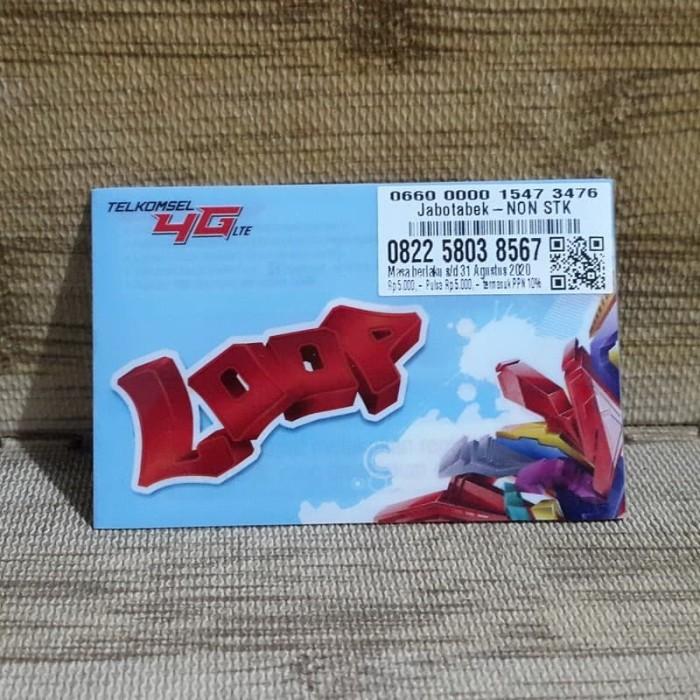 Foto Produk Nomor Cantik LOOP 58 038 567 Telkomsel 4G LTE Exp 31 Agustus 2020 dari idStoreplus