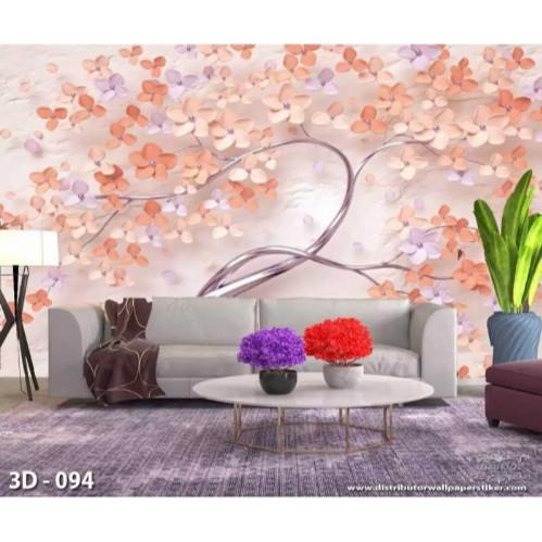Jual 3d Wallpaper Kustom Wallpaper Custom Wallpaper Dinding Bunga Cantik Jakarta Pusat Wonderful Wallpaper Tokopedia