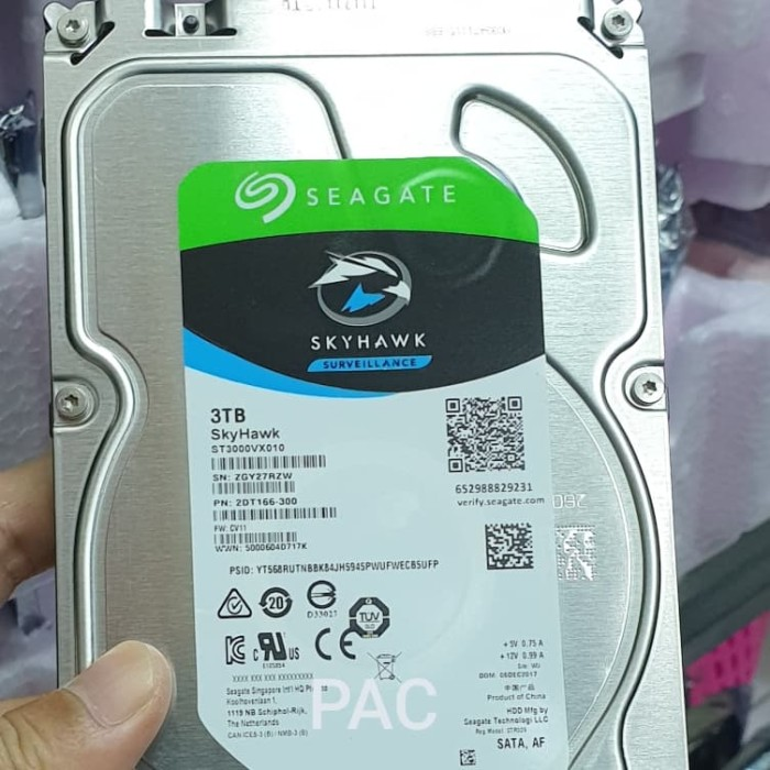 "Foto Produk Hardisk HDD Seagate 3TB 3,5"" Ori New dari Pracom Computer"