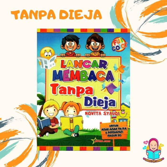 Jual Buku Aktivitas Anak Lancar Membaca Tanpa Dieja Tk Paud Kota Surabaya Books For Camilla Tokopedia