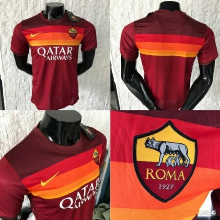 Jual Jersey AS Roma Home 2020 - 2021 Merah Tua GRADE ORI Authentic Terbaru  - Merah, S - Kota Surabaya - GRAHA_JERSEY | Tokopedia