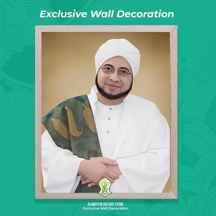 Jual Bingkai Foto Habib Munzir Al Musawa Uk 40x50 Jakarta Selatan M Albagirshop Tokopedia
