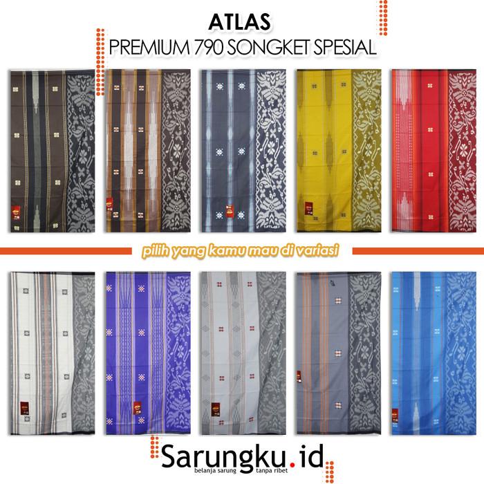 Foto Produk SARUNG ATLAS PREMIUM 790 SONGKET SPESIAL - Cover dari SarungkuID