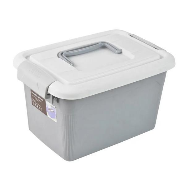 Foto Produk Kotak Penyimpanan Dengan Handle 5l - Abu-Abu dari SELMA