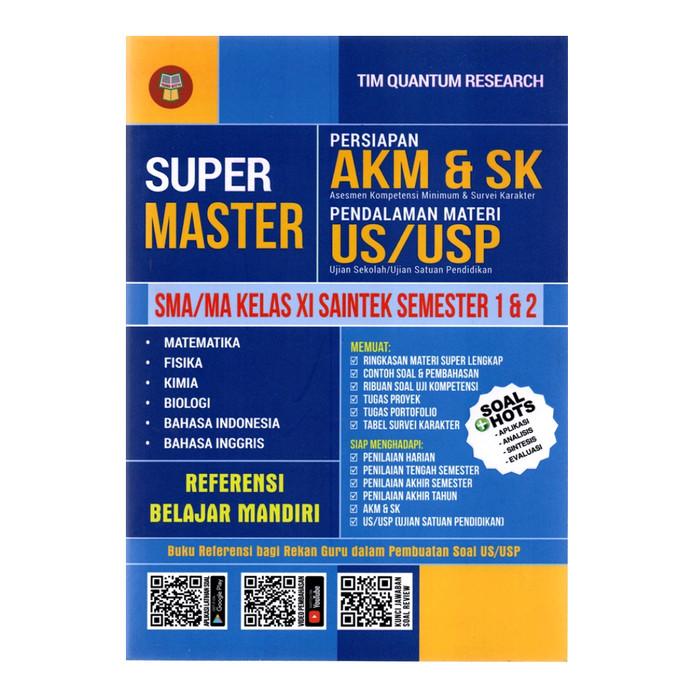 Jual Buku Super Master Sma Ma Kelas 11 Saintek Persiapan Akm Dan Sk Kab Tangerang Mat Store Tokopedia