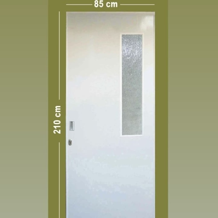 Pintu Bilik Air Sliding