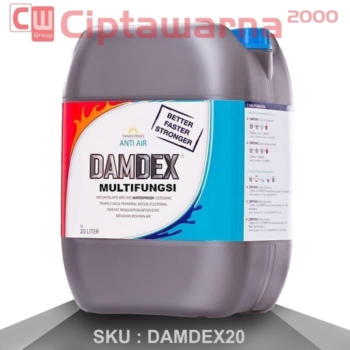 Jual Cat Damdex 20 Liter Multi Fungsi Palembang Kota Palembang Cipta Warna Tokopedia