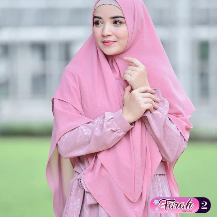 Foto Produk Farah 2 - Pink Rose, M dari gerai saffa jember