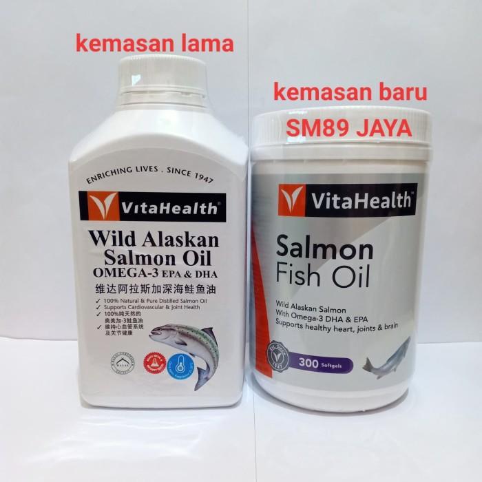 Foto Produk vitahealth wild alaskan salmon oil omega-3 EPA & DHA ( minyak ikan ) dari sm89 jaya