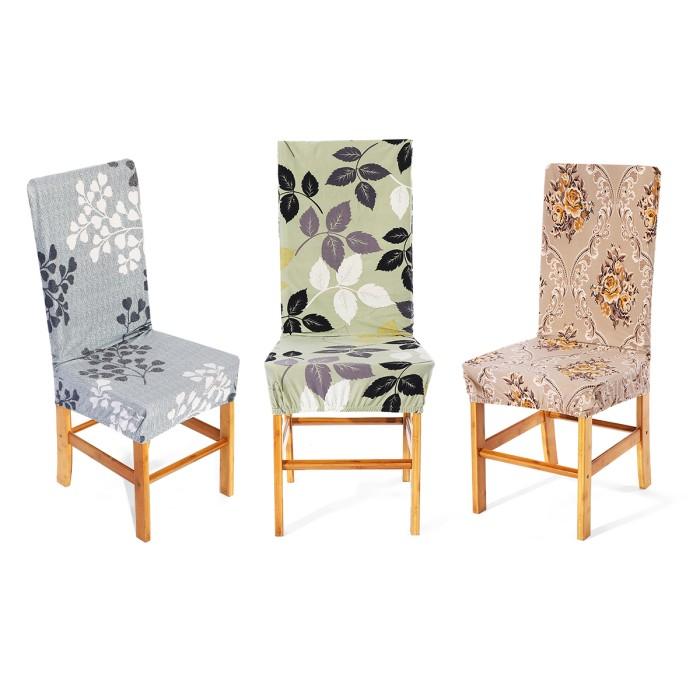 Jual Stretch Dining Room Chair Covers Seat Slipcover Washable Kota Surabaya Moka Fashion Tokopedia