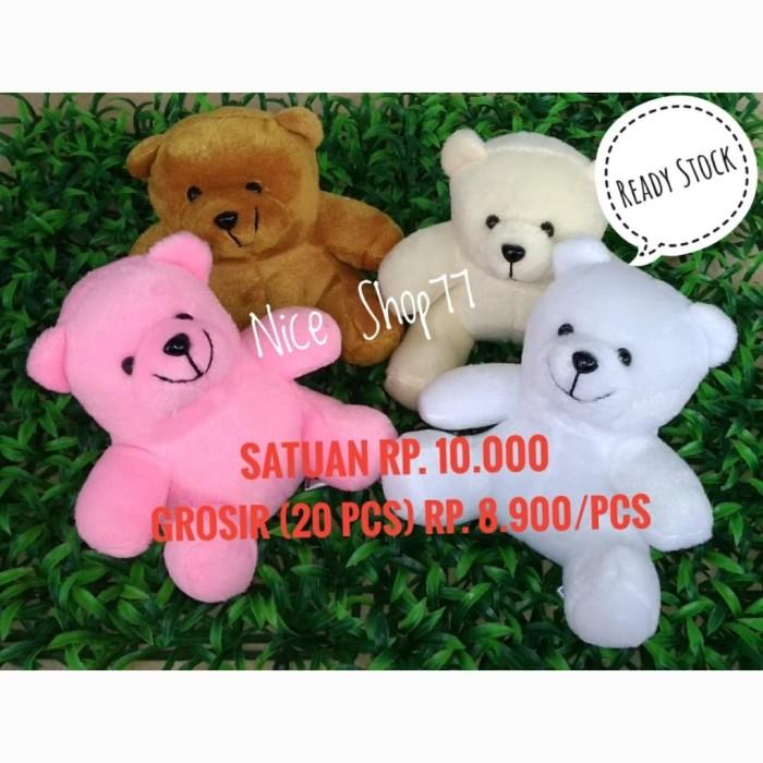 Foto Produk Boneka Bear Polosan / Bear Mini / Teddy Bear Murah dari Nice Shop77