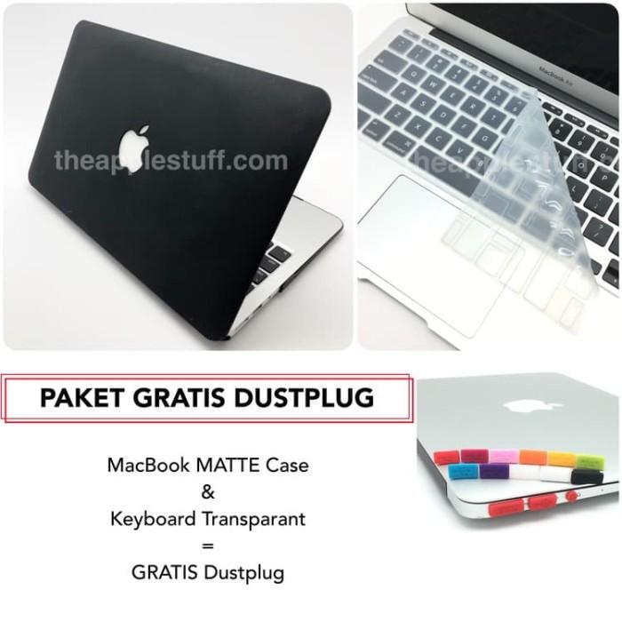 Foto Produk PAKET GRATIS DUSTPLUG MacBook MATTE Case Bundling Package dari The Apple Stuff