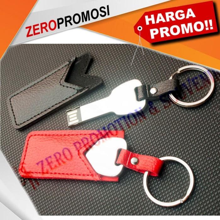Foto Produk Flashdisk Kunci bahan metal dengan Sarung Kulit FDLT26 dari Zero Promosi