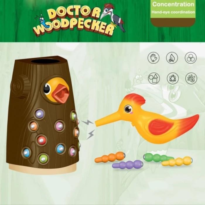 Foto Produk Mainan anak Game Woody weepeeker game/ simulasi burung penangkap ulat dari AUTO KID II