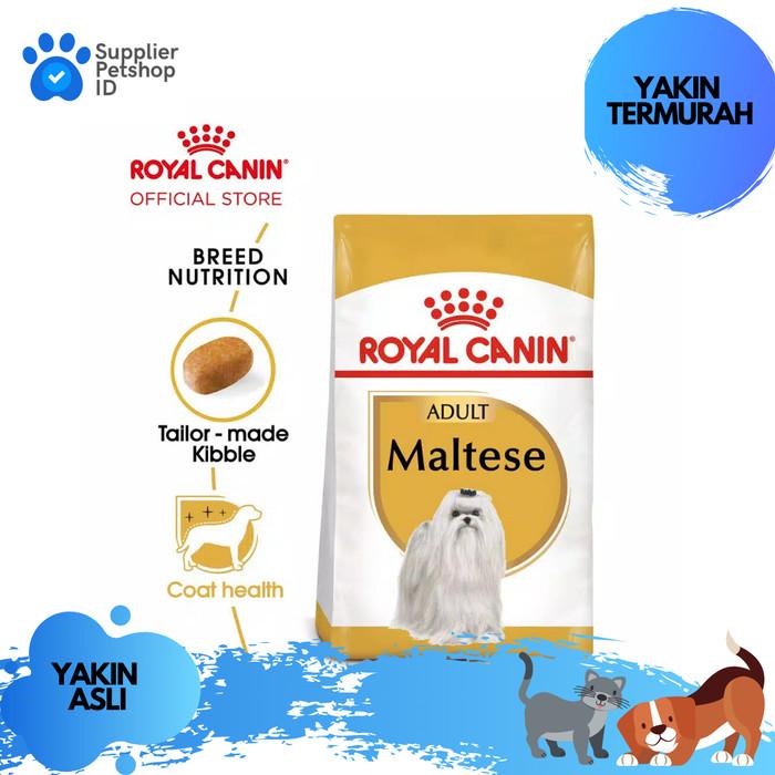 Jual Makanan Anjing Dewasa Royal Canin Maltese Adult Dry 1 5kg Rc Dog Food Kab Tangerang Supplier Petshop Id Tokopedia
